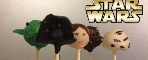Des cake pops star wars