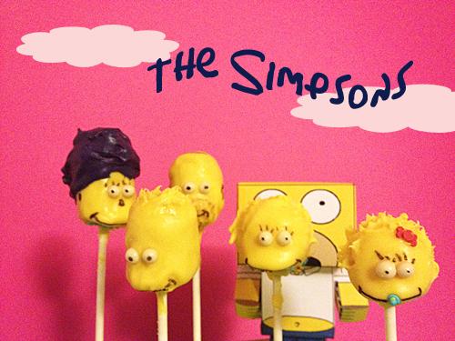 The Simpson en Cake pops !!!!