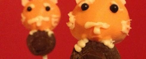 Le chappoté en cake pops