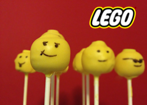 Cake pops Lego