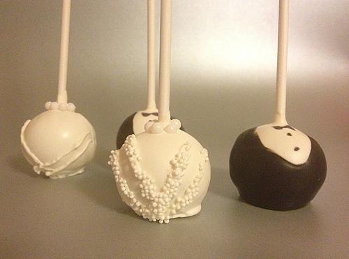 Cake pops pour un mariage gourmand
