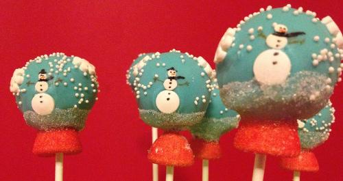 boule à neige bonhomme de neige